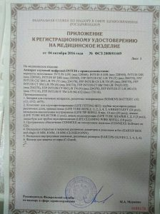 Сертификат Intuis2